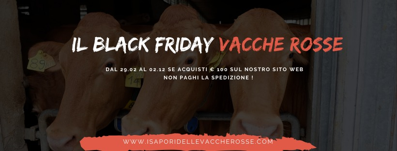 Black Friday si tinge di ROSSO!